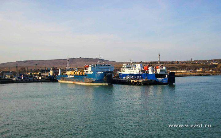 Порт Крым с парома