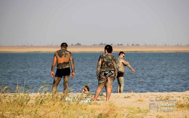Лечебные грязи на озере Ойбруйское