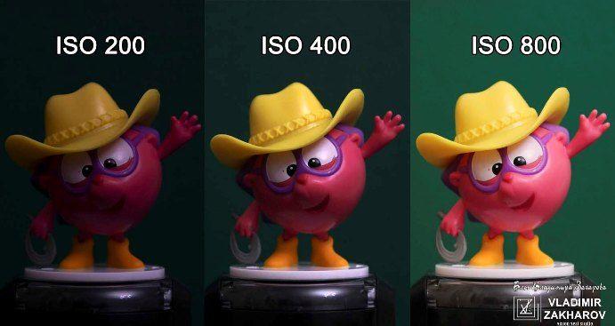 ISO в фотоаппарате
