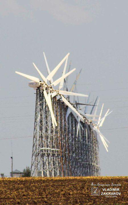 Ветрогенератор USW 56-100, Мирновская ВЭС
