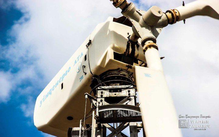 Ветрогенератор USW 56-100, Мирновская ВЭС.