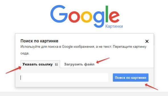 Поиск по изображению Google картинки