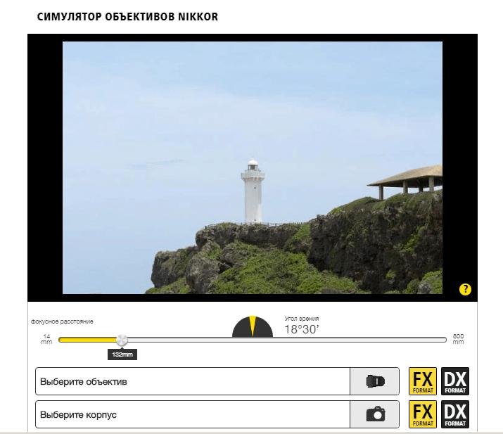 Симулятор объективов от Nikon (1)