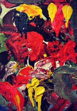 Краски 1, картина