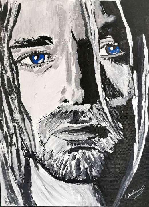 Курт Кобейн. картина